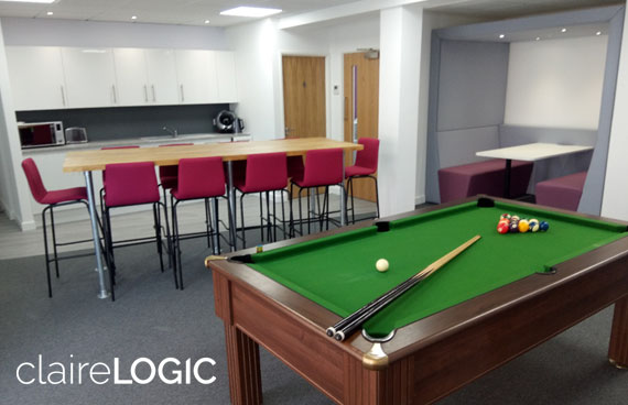 Office refit for Claire Logic in Abingdon