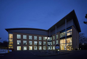 Ancells Business park refurbishment Hampshire