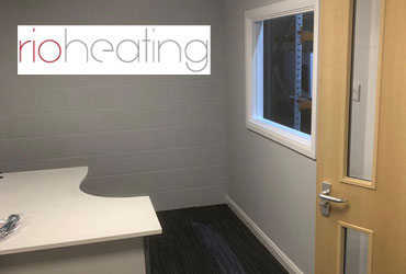 Office Refurbishment RIO Heating - Poole