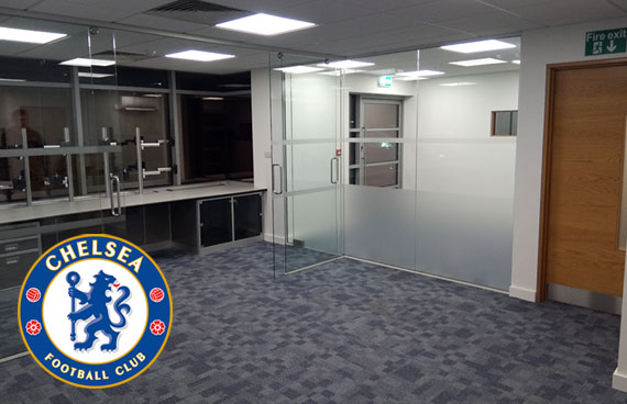 Office refit for Chelse FC