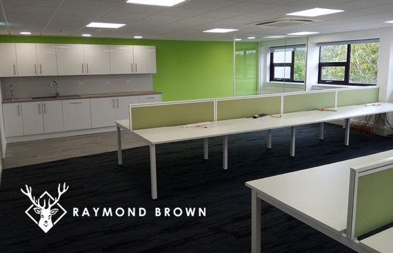 New HQ for Raymond Brown - Office Refurbishment Chandlers Ford
